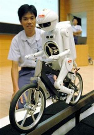 Robotcycliste